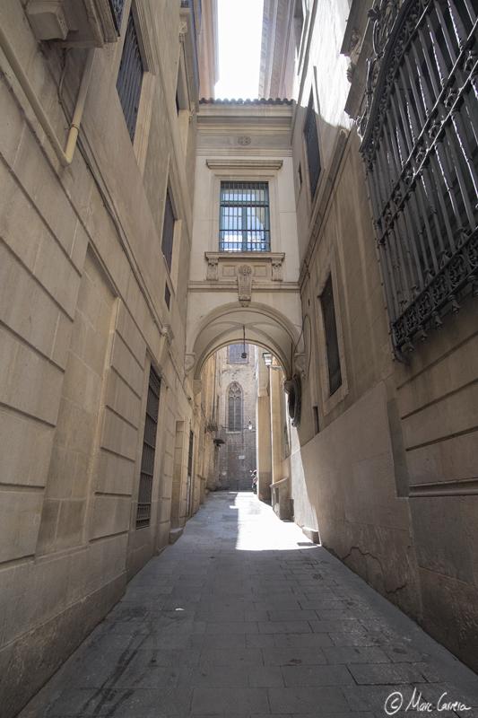 Bonitas calles del centro de Barcelona.